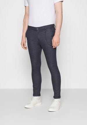 TRAVIS - Pantalon classique - mottled dark grey