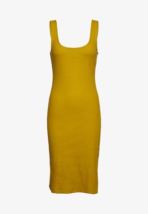 TANK BODYCON MIDI DRESS - Jerseykjole - ecru olive