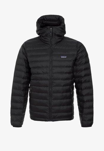 SWEATER HOODY - Down jacket - black