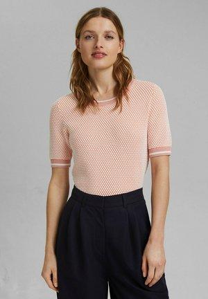 Print T-shirt - rose