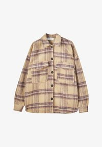PULL&BEAR - Button-down blouse - beige - 5