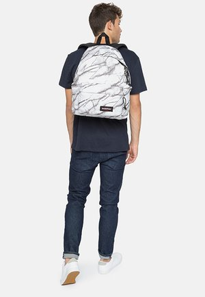 PADDED PAK'R SUPERB  - Rucksack - white/grey