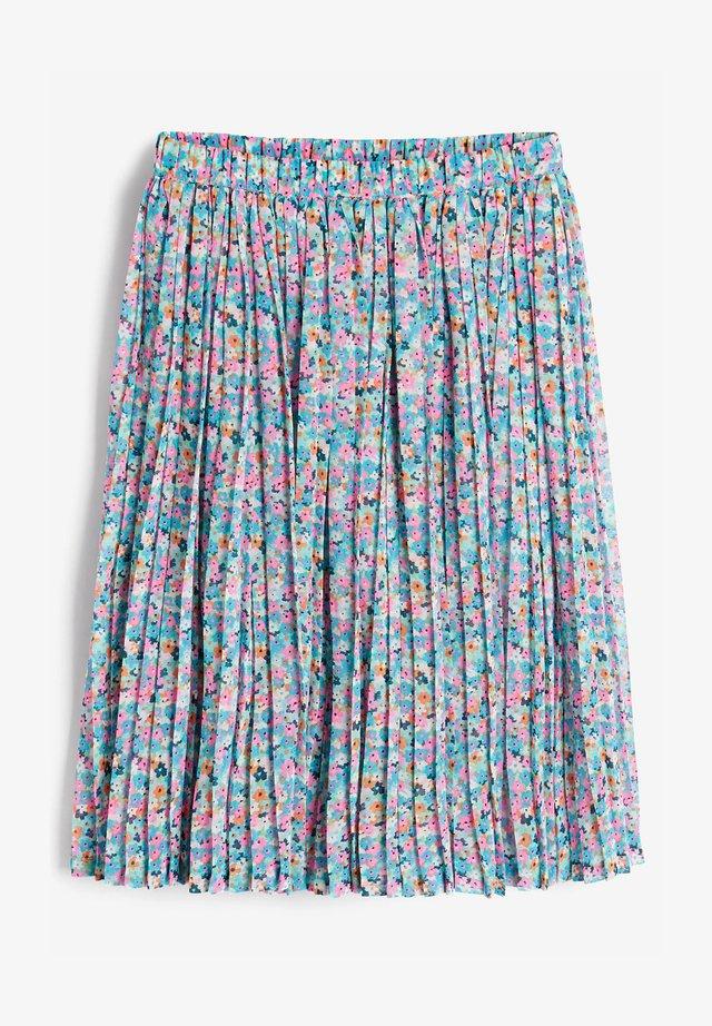 Plisovaná sukně - blue