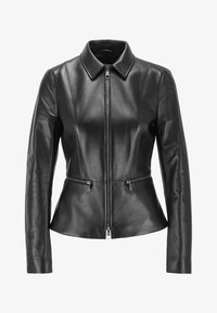BOSS - Leather jacket - black - 4