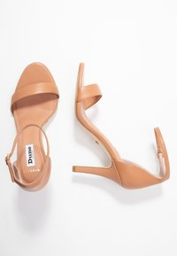 Dune London WIDE FIT - WIDE FIT MYDRO - High heeled sandals - camel - 3