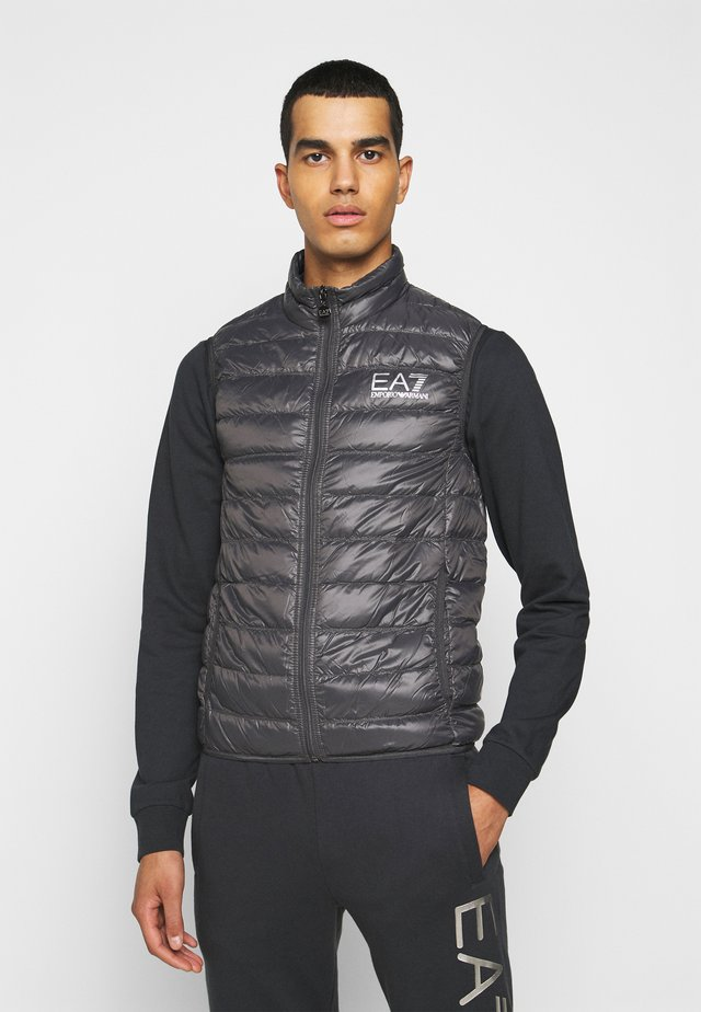 JACKET VEST - Vest - anthracite
