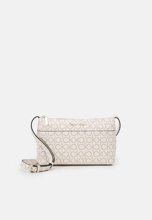 XBODY MONOGRAM - Across body bag - white