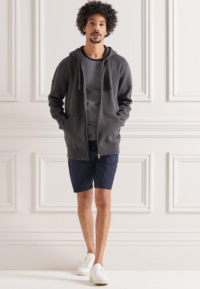 Superdry - Zip-up sweatshirt - charcoal marl