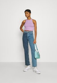 Even&Odd - 2 PACK - Top - black/lilac - 0