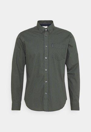 SIGNATURE GINGHAM - Overhemd - loden green