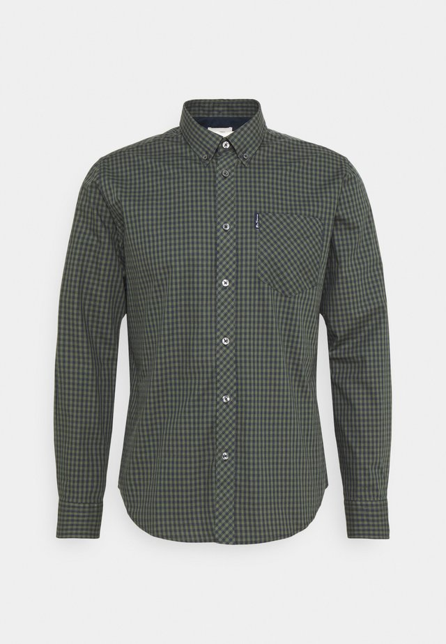 SIGNATURE GINGHAM - Shirt - loden green