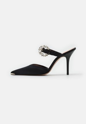 DAZZEL - Heeled mules - black