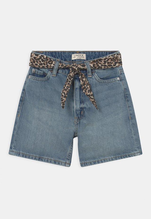YASIA - Denim shorts - blue denim