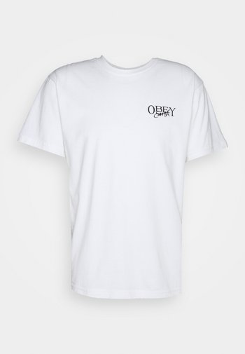 EARTH SPORES - Print T-shirt - white
