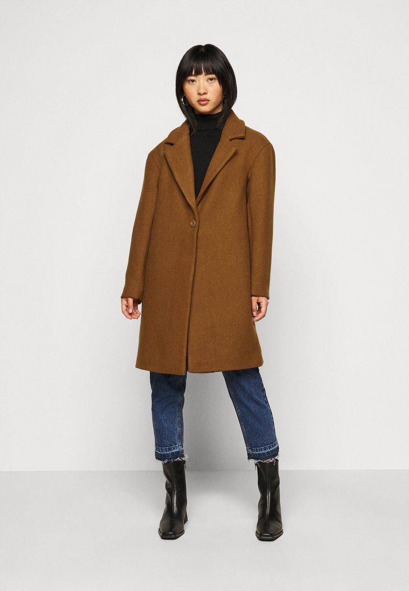 Object Petite - OBJHELLE COAT  - Classic coat - chipmunk