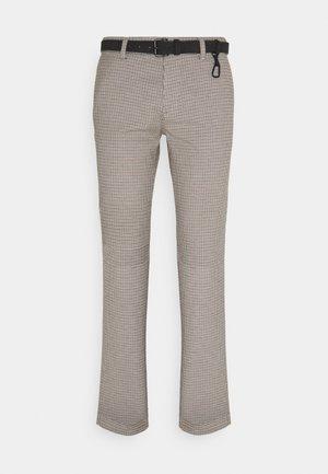 STRUCTURED - Chinot - beige/navy/brown