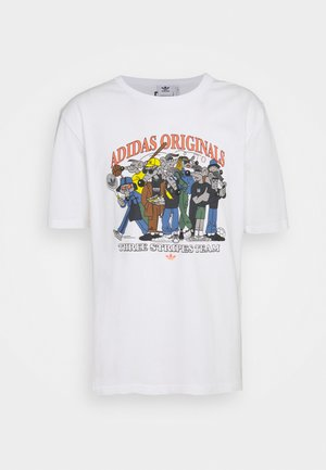 RATEUNION TEE - T-shirt med print - white