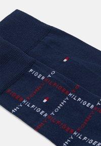 Tommy Hilfiger - MEN SOCK GRID 2 PACK - Socks - dark blue - 1