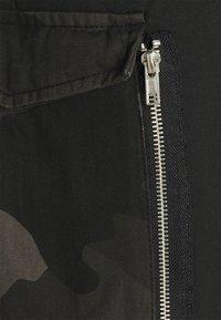 Brave Soul - Pantaloni cargo - black - 5