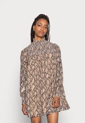 ABIGAIL DRESS - Day dress - brown