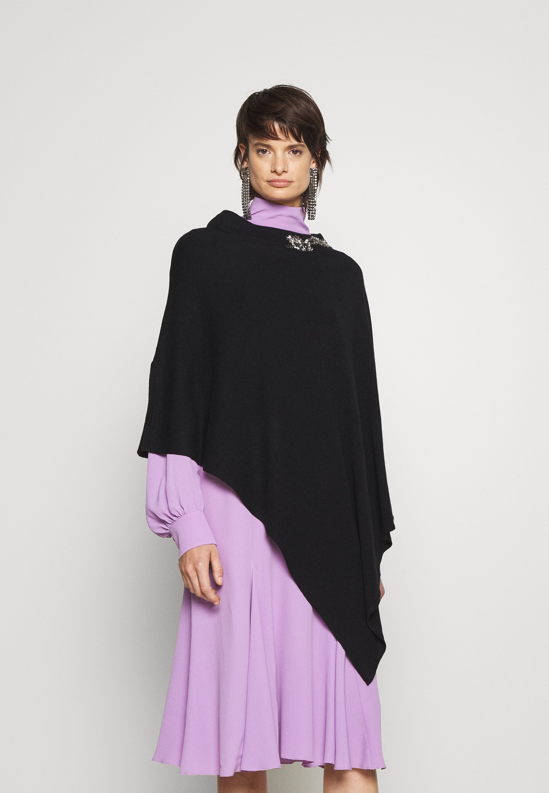 Femme EMBROIDERY PONCHO - Cape