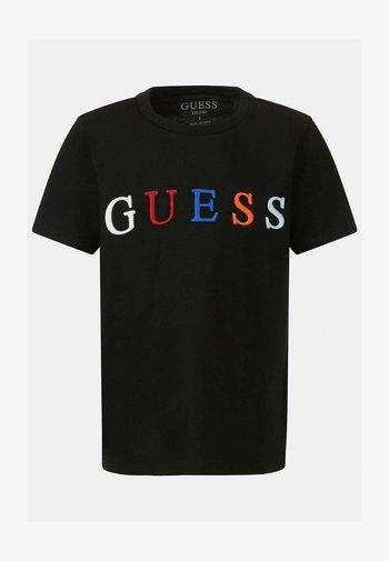 JUNIOR UNISEX  - Print T-shirt - zwart