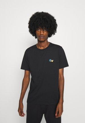 PAINT SPLATTER UNISEX - T-shirt imprimé - black