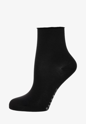 FALKE COTTON TOUCH SOCKEN SCHWARZ - Socks - black