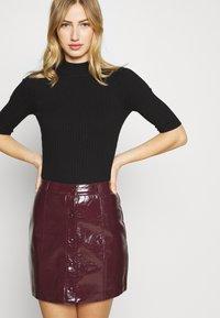 Glamorous - SKIRT - A-line skirt - burgundy - 3