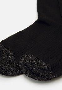 Dear Denier - MALENE GLITTER - Ponožky - black - 1
