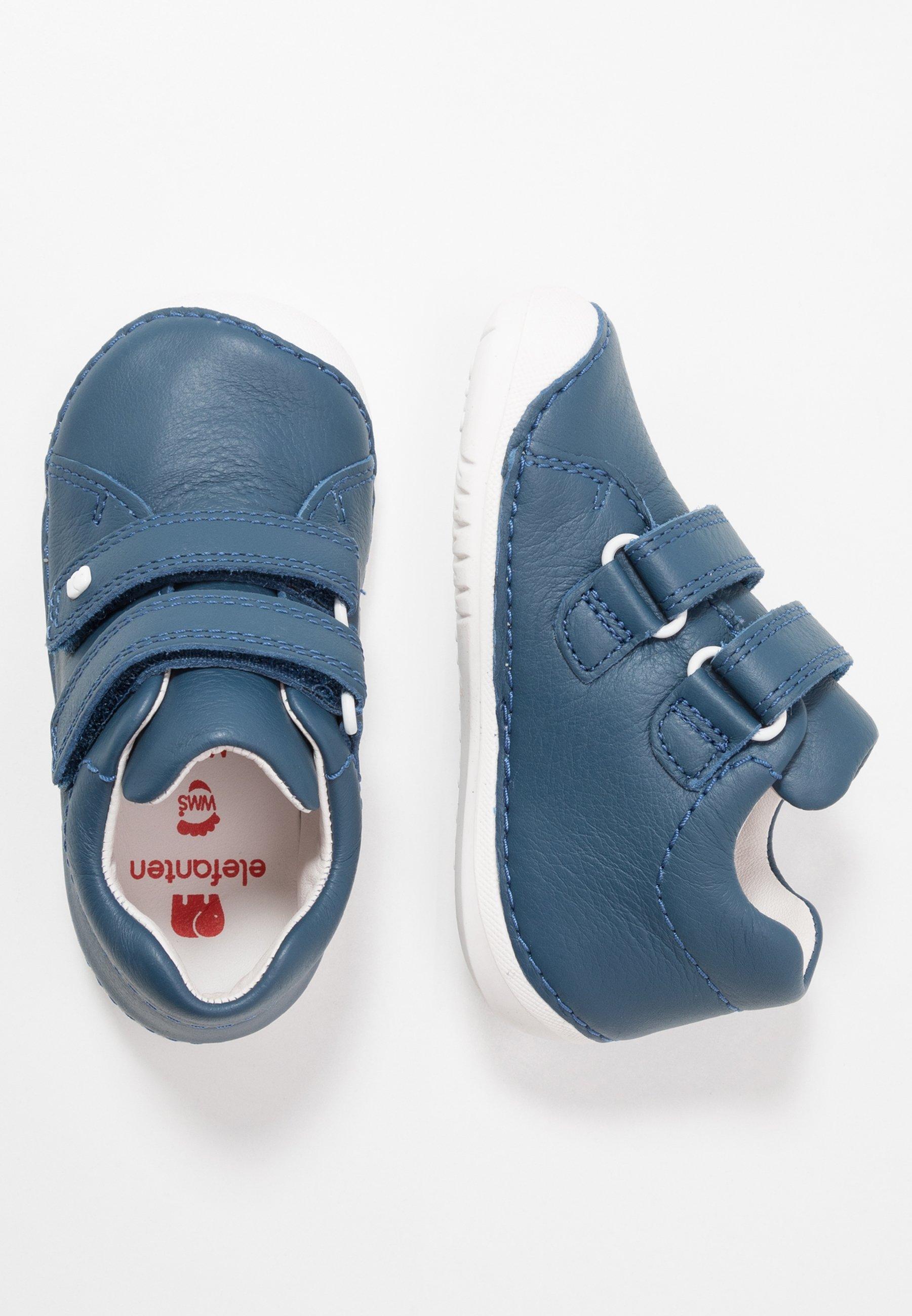 Elefanten Loop Baby Shoes Blue Dark Blue Zalando Co Uk