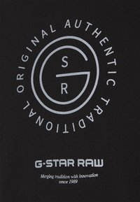 G-Star - REFLECTIVE MULTI GRAPHIC R T L\S - Top sdlouhým rukávem - black - 4
