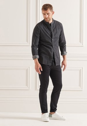 Overhemd - washed black