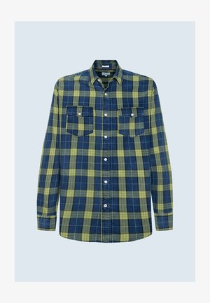 Shirt - indigo blau