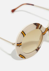 Gucci - Sunglasses - ivory/gold-coloured/brown - 3