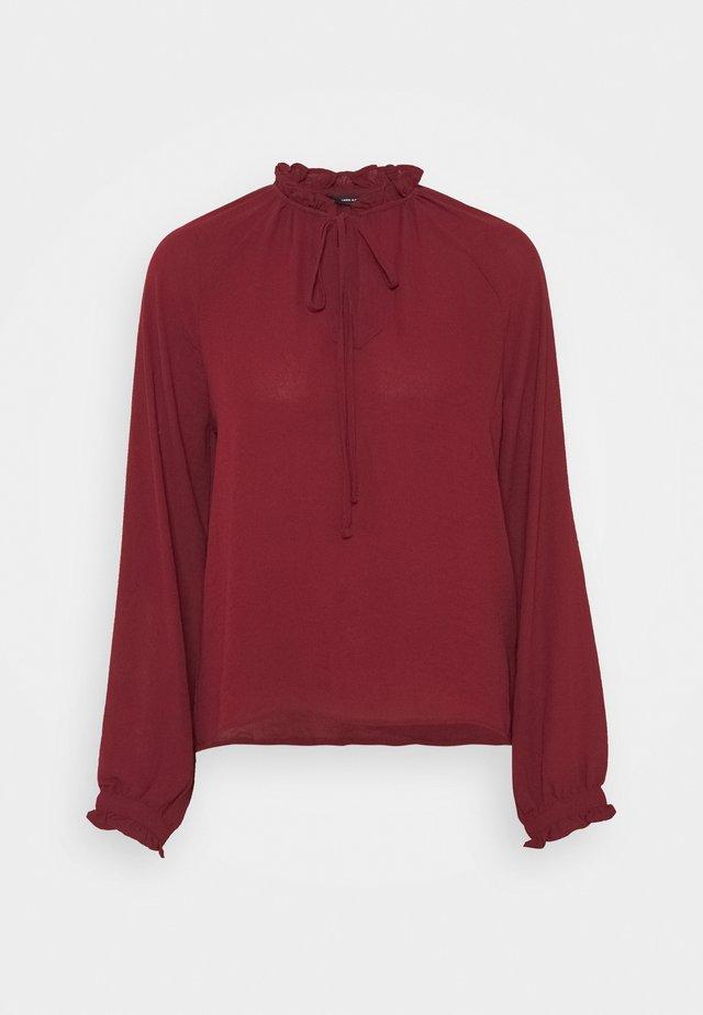 VMISABELLA STRING  - Long sleeved top - cabernet