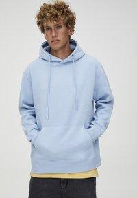 PULL&BEAR - Hoodie - light blue - 5
