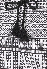 LASCANA - ETHNO PANTS - Pyjama bottoms - black - 2