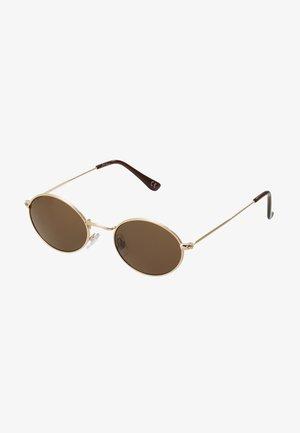 Zonnebril - gold/brown lens