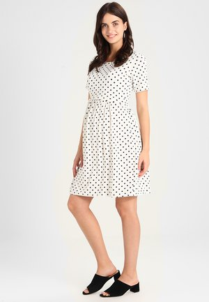 LIMBO - Sukienka z dżerseju - off white/navy