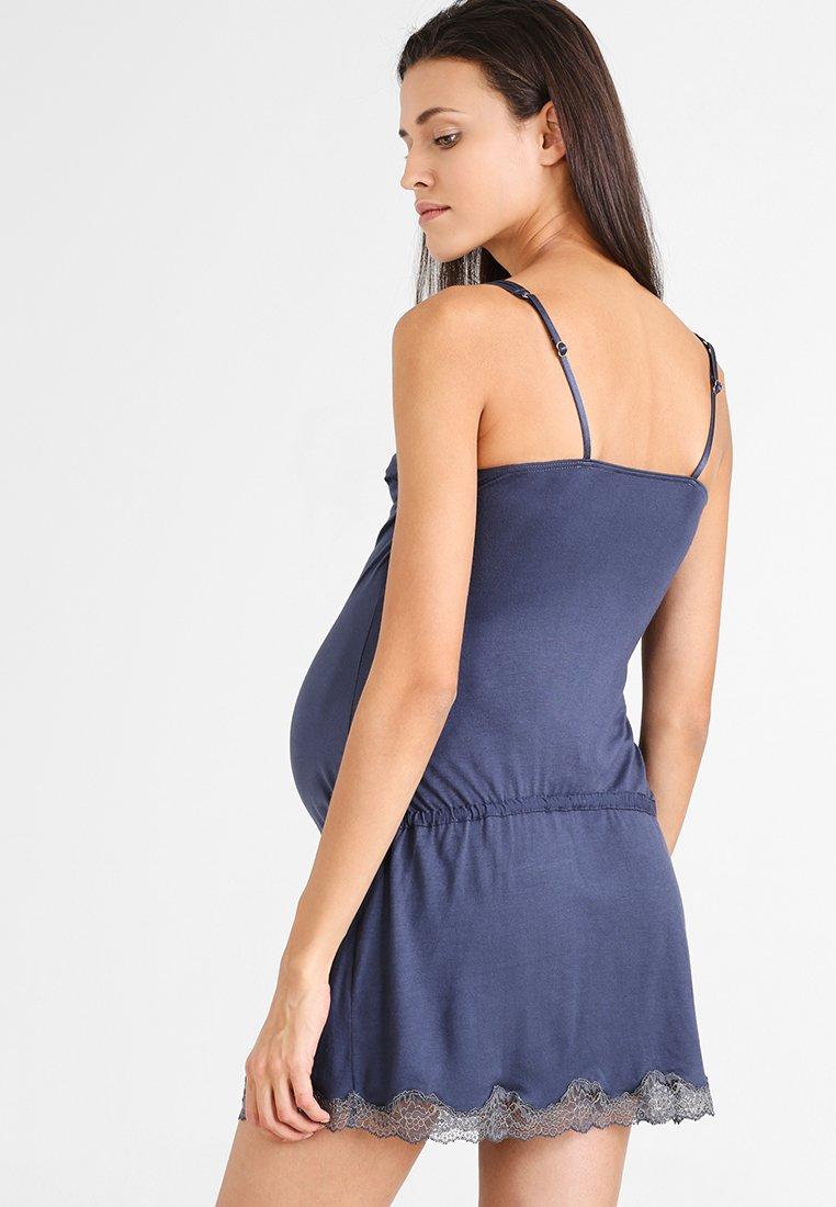 Damen KHALI MATERNITY AND NURSING NIGHTDRESS  - Nachthemd - night blue