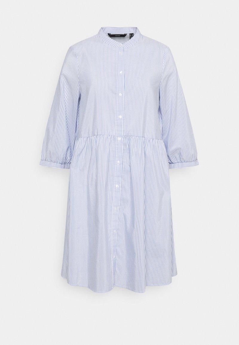 Vero Moda Tall - VMSISI DRESS - Shirt dress - snow white/cashmere blue