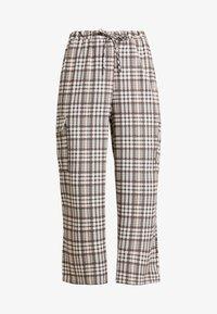 NEW girl ORDER - CHECK PRINT TROUSERS - Spodnie materiałowe - multi - 3