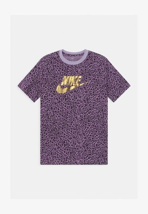 T-shirt print - violet frost/purple/black