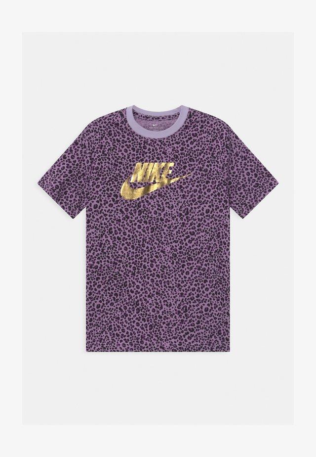 Camiseta estampada - violet frost/purple/black
