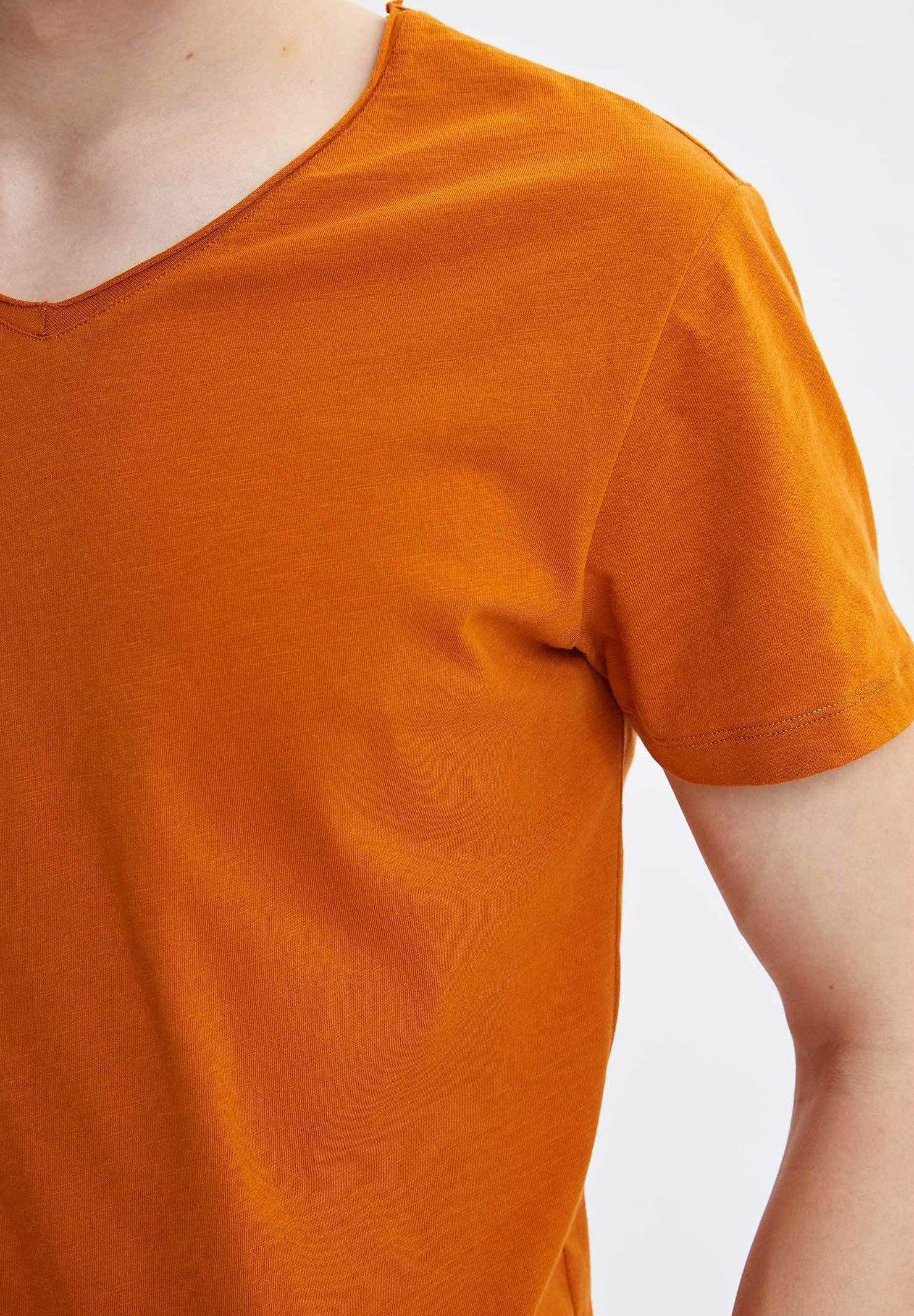 DeFacto Basic T-shirt - orange a3Q6z