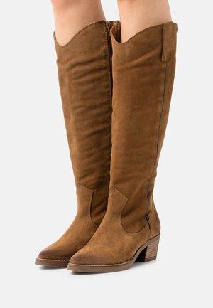 TEO - Cowboystøvler - brown