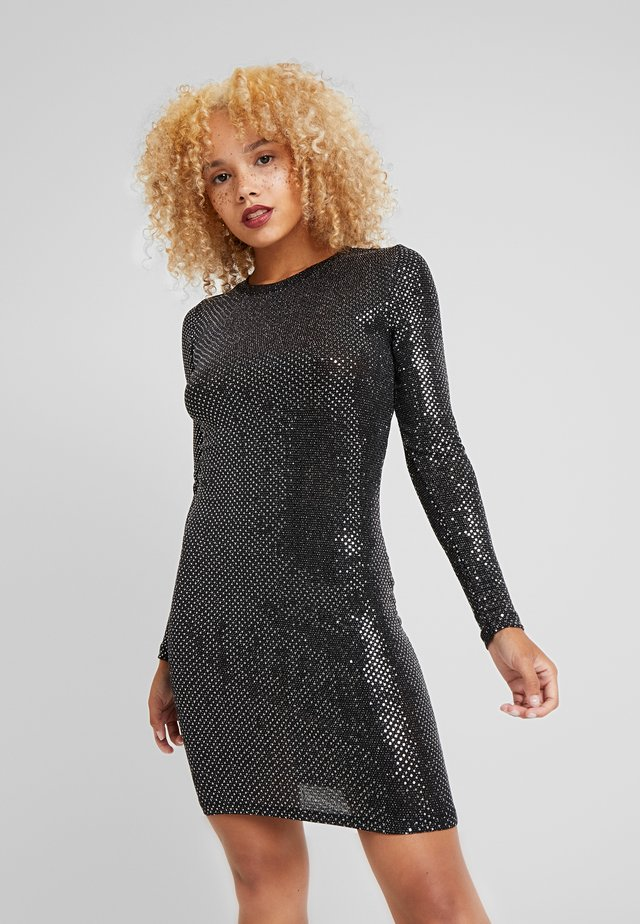 NMNIGHT DRESS - Etuikjole - black