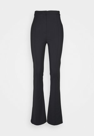 FLARED TROUSERS - Bukse - nero