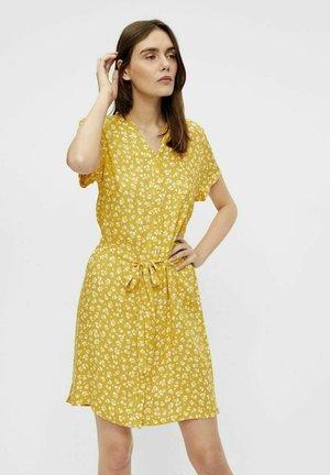 Blousejurk - mottled yellow
